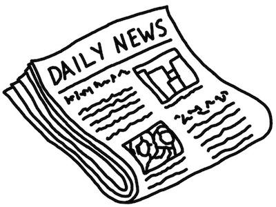 newspaper clip